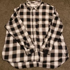 Super soft boyfriend flannel